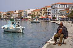 Samos-city, Greece