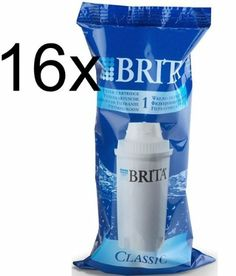 Pack of 16 Brita Classic Replacement Water Filter Jug Cartridges Original New Good Quality Fast Shipping Ship Worldwide From Hengheng Shop Pack of 16 Brita Classic Replacement Water Filter Jug Cartridges Original New  Good Quality  Fast Shipping Ship Worldwide From HengHeng Shop.  #HEALTYPLUS #Single_Detail_Page_Misc