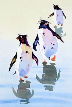 jake winkle watercolours - these little guys are so much fun.  Beautiful pure colour!