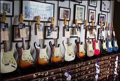Fenders Fender Stratocaster, Fender Guitars, All Music Instruments, Music Studio Room, Fender Custom Shop, Guitar Collection, Design Lab, Guitar Amp, Building A House
