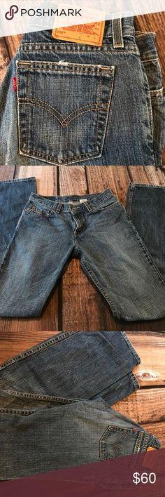EUC Vintage Levi's EUC. 518 super low cut. Boot cut. Long. Signature by Levi Strauss Jeans Boot Cut