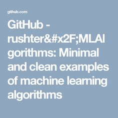 80 Best Machine Learning Learning images in 2019   Machine