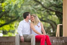 sweet engagement photo by Kelly L Photography
