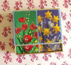 Bridge Cards Double Pack Vintage Playing Cards by ForsythiaHill