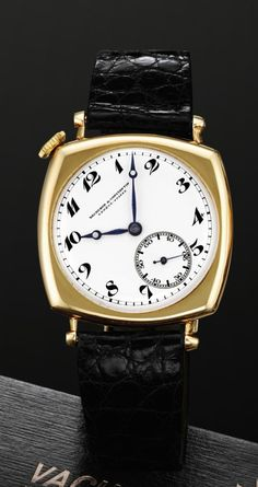 e789af541653 The art deco-influenced Vacheron Constantin Vintage American watch from  1921 sold at Sotheby s in