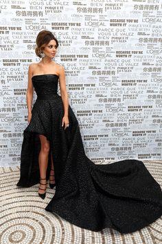 "2014 - Cheryl Cole in Monique Lhuillier at the ""Foxcatcher"" Premiere in Cannes Film Festival"