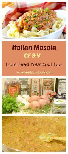 Italian Masala (GF & V)