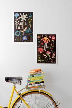 Susan Farrington Botanical Series, Red Variations Art Print - Google Searrrch