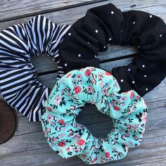 Scrunchies, Kinds Of Clothes, Ponytail Holders, Top Knot, Hair Ties, Cute Fashion, Girly Things, Summer Fun, Cute Outfits