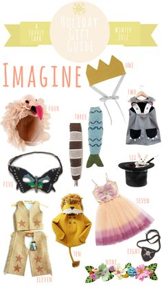 Gorgeous -> A Lovely Lark: Holiday Gift Guide 2012: Imagine