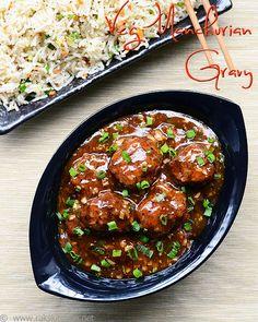 veg-manchurian-gravy-recipe by Raks anand, via Flickr