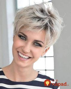 Icy Short Pixie Cut - 60 Cute Short Pixie Haircuts – Femininity and Practicality - The Trending Hairstyle Stylish Short Haircuts, Short Pixie Haircuts, Pixie Hairstyles, Hairstyles 2018, Haircut Short, School Hairstyles, Trending Hairstyles, Short Hair Cuts For Women, Short Hairstyles For Women