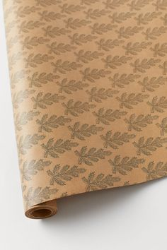 Gift wrap - Beige/Pine - Home All H & M Home, H&m Gifts, Get Excited, Marketing Materials, Fashion Company, Christmas 2019, Green And Gold, Pine, Personal Style