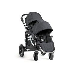 Turn your single into a double in a snap with the Baby Jogger City Select Second Seat Kit. Compatible with the Baby Jogger Baby City Select Single Stroller with Black Frame, this kit includes a smartly-designed second seat and necessary mounting brackets. City Select Double Stroller, Double Stroller Reviews, Baby Jogger City Select, Best Double Stroller, Single Stroller, City Stroller, Baby Jogger Stroller, Best Baby Strollers, Travel Stroller