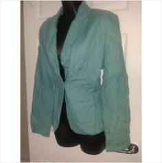 Designer PER UNA Ladies Smart Casual 100% Linen Blazer Style Jacket Coat