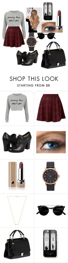"""walking with parents"" by patricia145 ❤ liked on Polyvore featuring MINKPINK, Frye, Marc Jacobs, Wanderlust + Co, Miu Miu and Samsung"