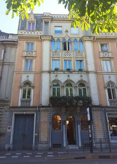 Corso Matteotti a Torino Best Places In Europe, Italy House, Turin, Bella, Venice, Colorado, Journey, Exterior, Mansions