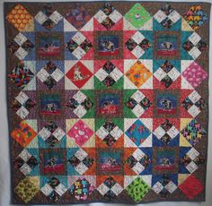 Quilt made by Tama Blough for commission