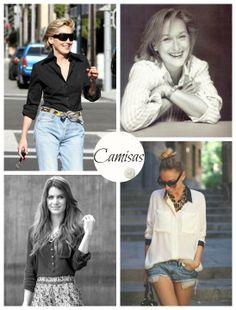 Versáteis e super elegantes as camisas valorizam qualquer mulher de qualquer idade. Próximo aos anos 80 as camisas brancas foram febre entre diferentes modelagens e estilos. Nossa nova coleção está vindo com várias padronagens que prometem fazer sucesso! Venha conferir nossas novidades!