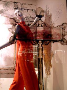 Parisian Street Scape, pinned by Ton van der Veer