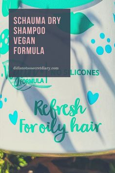 Schauma Dry Shampoo Vegan Formula, instant hair volume and refresh up to 24 hours, no white residues after brushing out...find out more... #hair#dry#shampoo