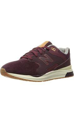 New Balance Men's ML1550 Sport Style Fashion Sneaker, Burgundy, 11 D US Best Price