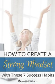 Are you creating habits in your business to get things done? Inaction is stillness. It means that you're not moving forward in any aspect of your life. You know you need to make some changes and know you want to put them into action, but you never actually do anything about it. Your actions must support a positive mindset if you want to make positive changes in your life. Read more as I share 7 Habits That Lead to a Strong Success Mindset. #smallbusinesstips #creatinghabits #entrepreneurtips Success Mindset, Positive Mindset, Positive Changes, Self Development, Personal Development, How To Get Clients, Business Entrepreneur, Business Tips, Meditation Techniques