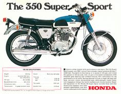 1968-1971 Honda CB350 | Motorcycle Review - Ultimate MotorCycling Magazine