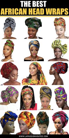 The best African head wraps African print lover shows us the bes. - The best African head wraps African print lover shows us the best selection of over - African Head Scarf, African Hair Wrap, African Head Wraps, African Fashion Ankara, African Print Dresses, African Print Fashion, African Style, African Prints, Africa Fashion