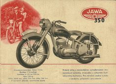 JAWA advertising #motorcycles #motorbikes #Czechia