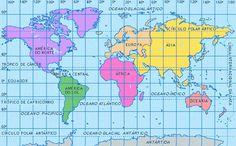 Tipos de mapas geograficos