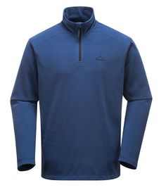 Portwest Ben Microfleece - Blue MP50  A lightweight, soft microfleece with a quarter zip, the Ben makes for a perfect base layer and looks great on its own. #portwest  #westport #ireland #outdoor #mensfleece #microfleece #hiking #walking