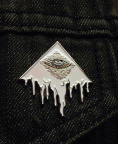 Eye of Decadence Enamel Pin