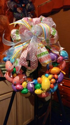 Easter Egg Wreath-for sale