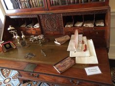 A period writing desk