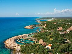 Vistas del Hotel Barceló Grand Xcaret Resort Can't wait to be back!  Halloween and dia de Los muertos!  Bliss!