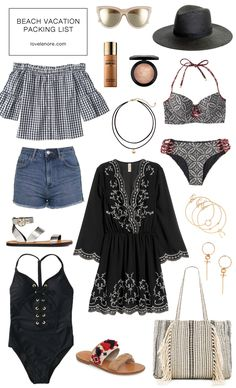 Beach Vacation Packing List and Tips