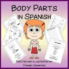 Body Parts Activities and Games in Spanish - Las Partes del Cuerpo