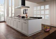 klassiek met moderne toets, ruim, maar ontbreekt beetje aan ziel   #kitchen #keuken #metamorphosia