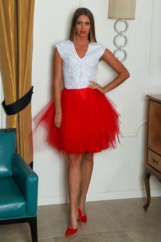 Tulle, Skirts, Fashion, Moda, Skirt Outfits, Fasion, Trendy Fashion, Skirt