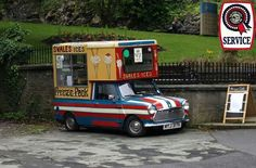 Hot n sticky? Ice cream should cool ya down of a summers day!