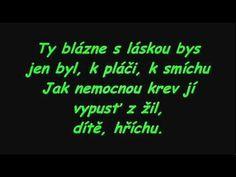 michal penk - o bláznech s textom Google Play, Itunes, Youtube, Music, Youtubers
