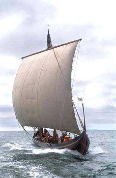 "Langskip  ""Sea Stallion of Glendalough"""