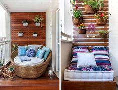 varanda pequena decoração - Pesquisa Google