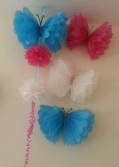 Disney frozen birthday party butterfly garland  by Ohsopretty37