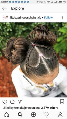 Cute Hairstyles - - Hairstyles - Hairstyles 2019 We have examined best cute hairstyles for you. You can apply one of this most preferred hair styes to your hair easily. Baby Girl Hairstyles, Kids Braided Hairstyles, Princess Hairstyles, Pretty Hairstyles, Cute Hairstyles For Kids, Young Girls Hairstyles, Fast Hairstyles, Modern Hairstyles, Everyday Hairstyles