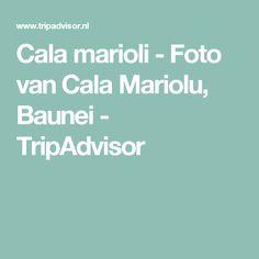 Cala marioli - Foto van Cala Mariolu, Baunei - TripAdvisor