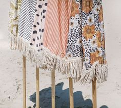 Sunday Supply Co. Beach Umbrellas