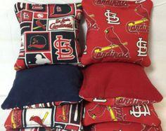 St Louis Cardinals Cornhole Bags MLB corn hole by SkyPixieCornhole