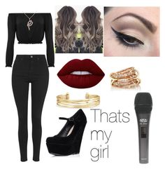 """""""Untitled #34"""" by denisebrione on Polyvore featuring WearAll, Topshop, Lime Crime, Allurez, SPINELLI KILCOLLIN, Stella & Dot and Mehron"""